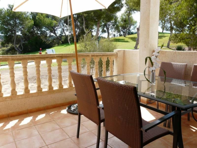 Lloguer Pis  Orihuela costa ,las ramblas. Alquiler por temporada, 3 dormitorios, 2 baños, piscina, en camp