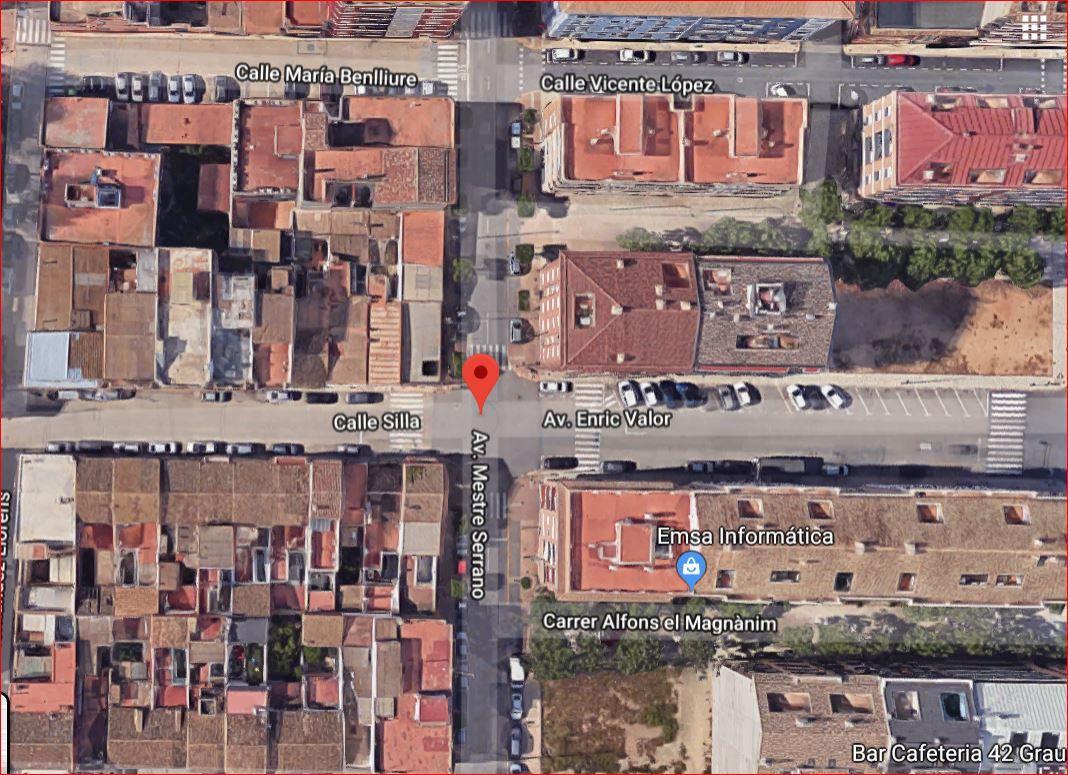 Stadtgrundstück  Avenida maestro serrano. Solar en venta en alcasser.