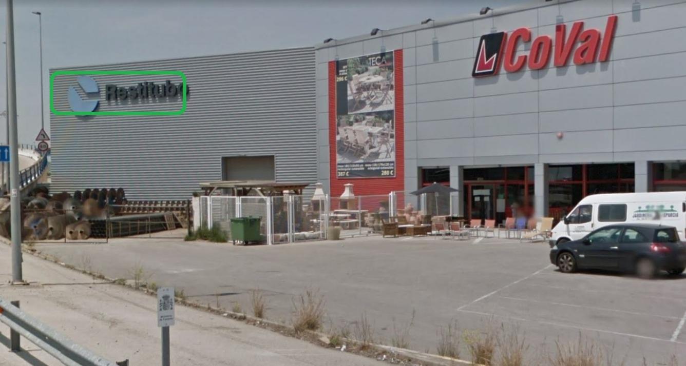 Miete Fabrikhalle  Camino vereda sur, 49. Nave industrial con excelente ubicación en la primera línea de l