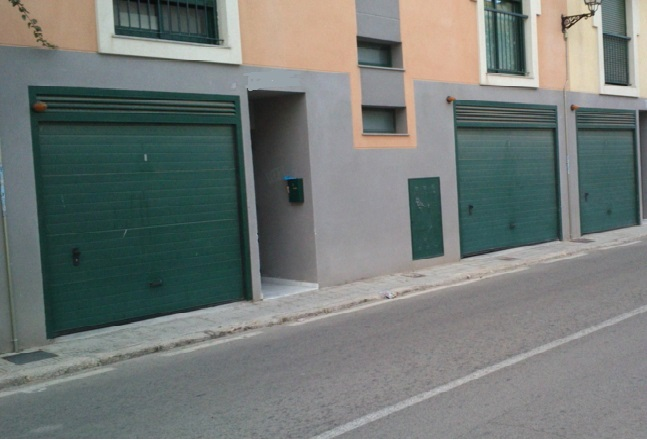 Car parking  Calle francisco carbonell, 14