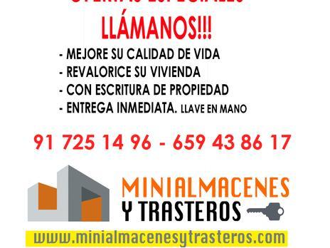Trasters en venda a Madrid Capital