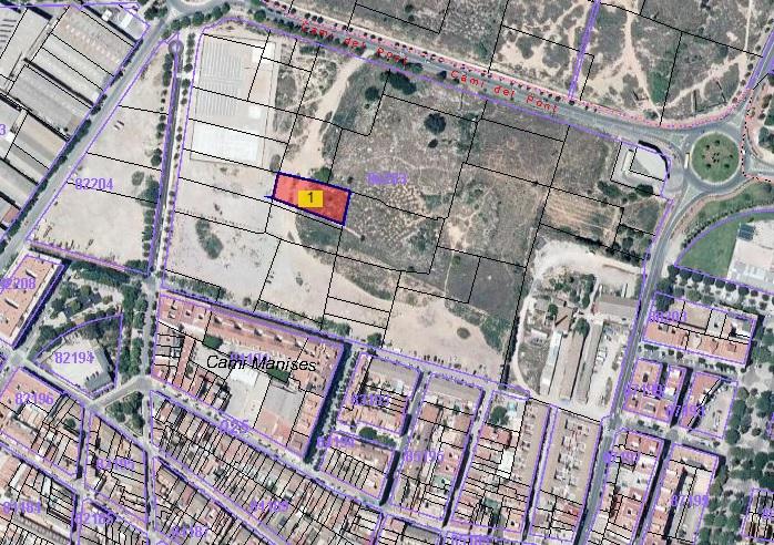 Solar urbano  Avenida vicente blasco ibáñez. Urbanizable programado en venta en lugar sector a , parcela 21,