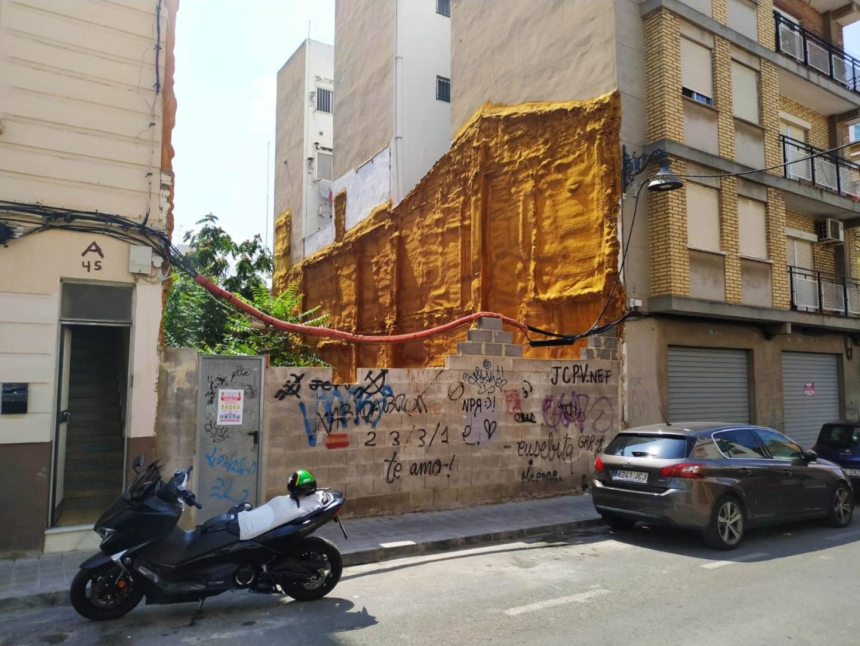 Urban plot  Calle nuestra señora de los ángeles, 47. Solar en venta en calle nuestra señora de los ángeles - mislata