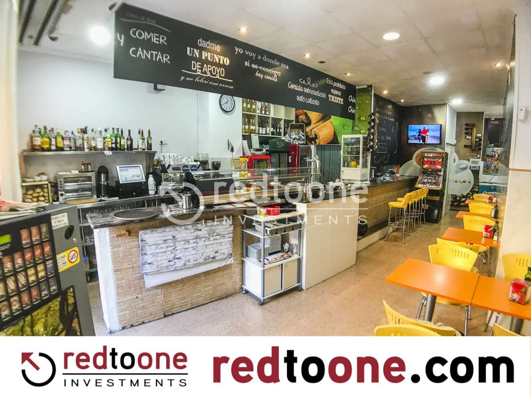 Rent Business premise  Sant joan d´ alacant. Muy buena oportunidad de traspaso bar restaurante