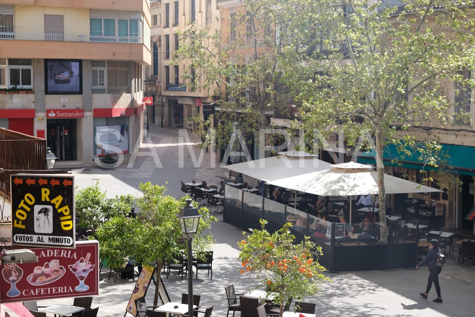 Rental Flat  Plaza sa bassa. Amplio y luminoso piso en el centro de Manacor.