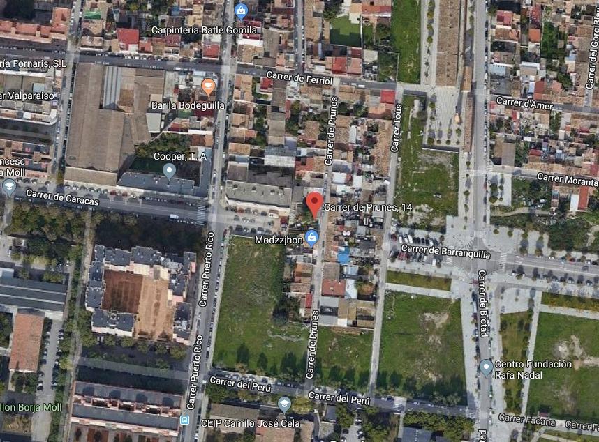 Area edificabile urbana  Carrer prunés, 14
