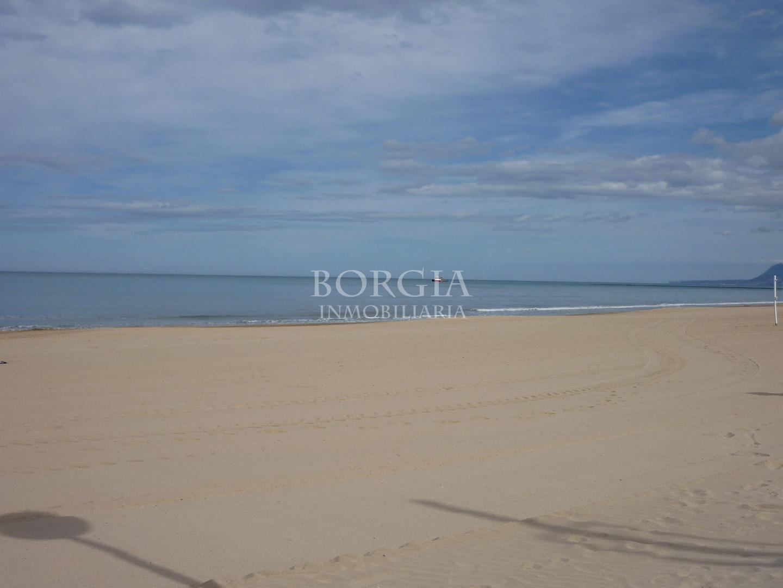 Alquiler Piso  Daimús. Primera línea de playa