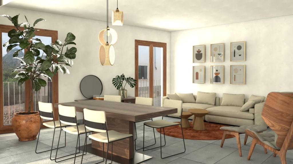 Appartement  Caimari. Ático con terraza privada en venta en caimari, mallorca.
