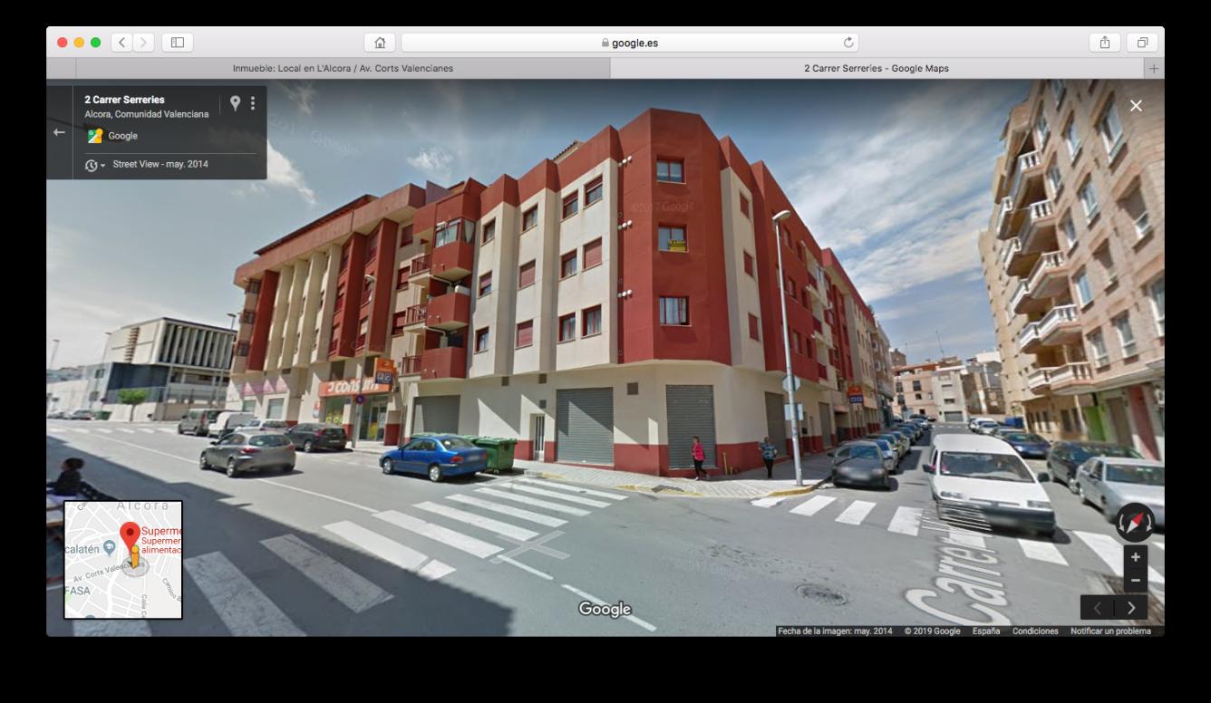 Lloguer Local Comercial  Avenida corts valencianes. Local comercial junto a la puerta de consum. tendrás la máxima