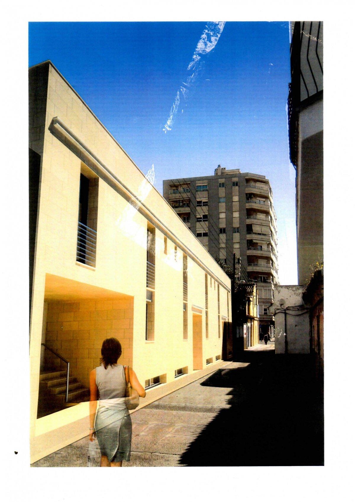 Area edificabile urbana  Palma de mallorca ,els hostalets. En venta terreno urbano con proyecto de 5 adosados en zona aragó