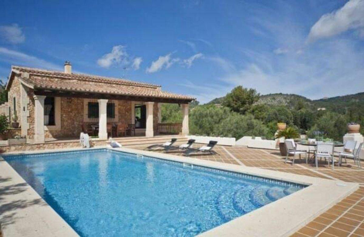 Lloguer Casa  Andratx ,puerto andratx. Magnifico chalet independiente en alquiler con piscina en parcel