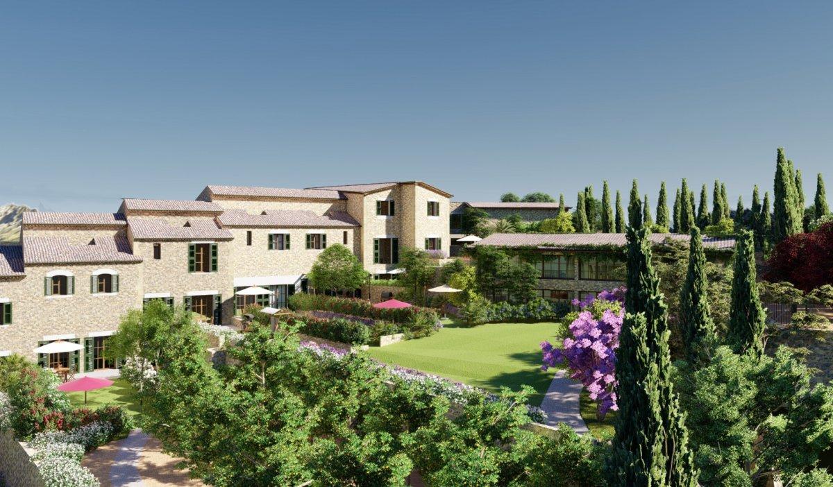 Maison  Fornalutx ,fornalutx. Venta de lujoso adosado de obra nueva con terraza y piscina comu