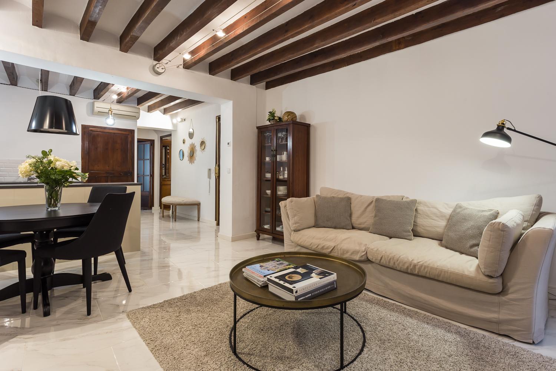 Piso  Calle caputxines. Moderno apartamento de dos habitaciones en el corazón de palma d