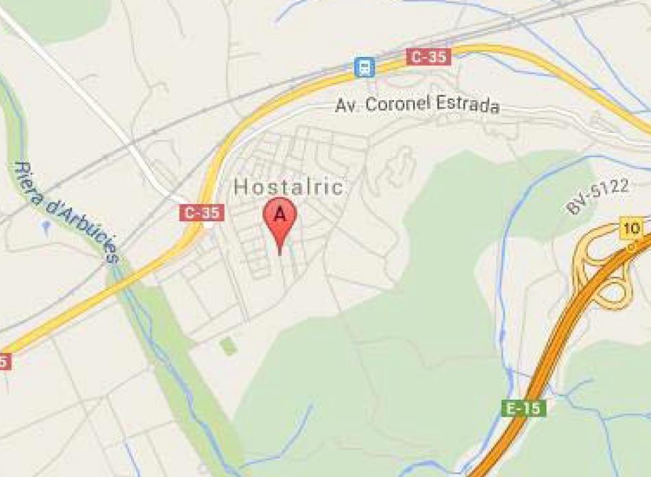 Solar urbano en Hostalric. Urbanizable en venta en hostalric (girona) girona