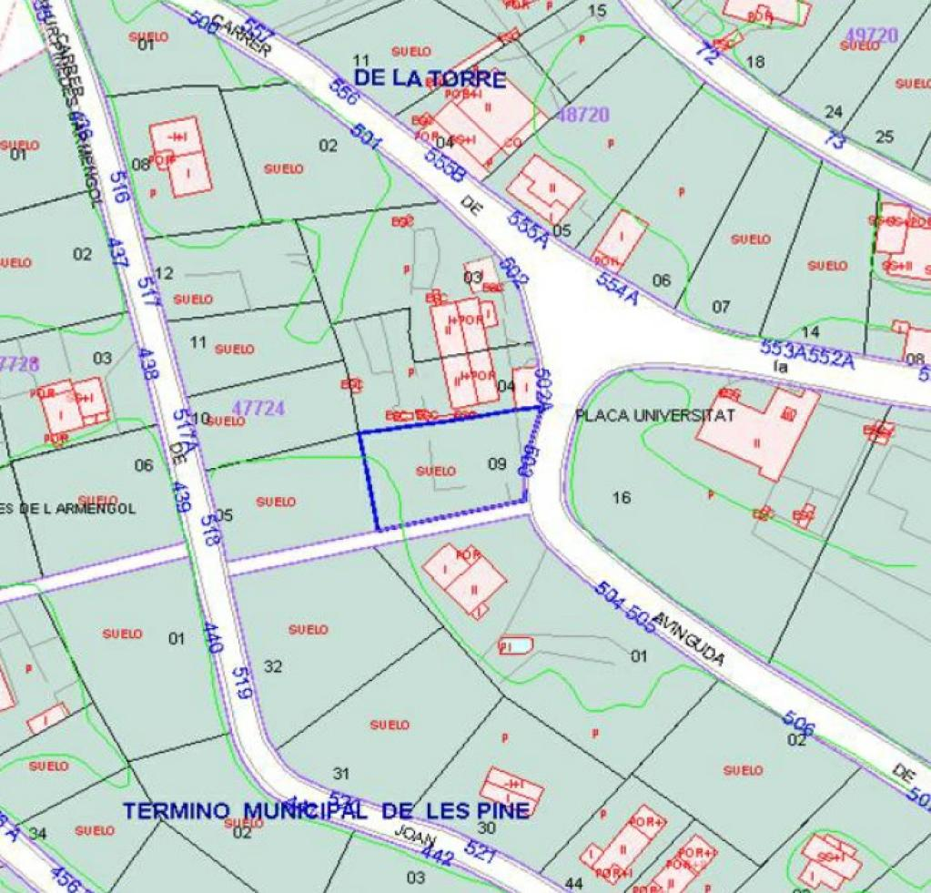 Urban plot in Torre de Claramunt (La). Urbanizable en venta en carme, la torre de claramunt (barcelona)