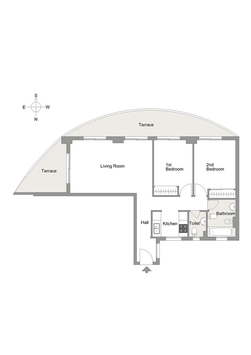 Etagenwohnung  Villajoyosa | costa blanca. Apartamento con una gran terraza.