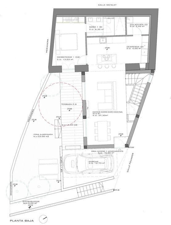 Urban plot  Alaró. Solar urbano con proyecto y licencia