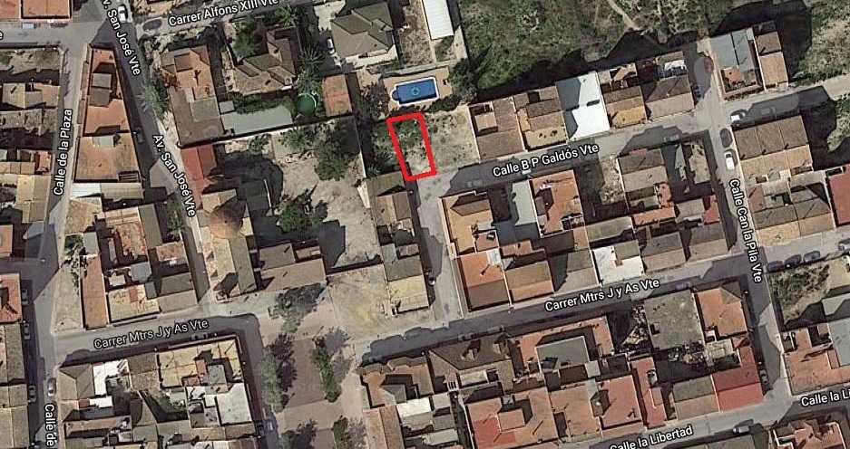 Solar urbà  C/ benito pérez galdós. Solvia inmobiliaria - suelo urbano Orihuela