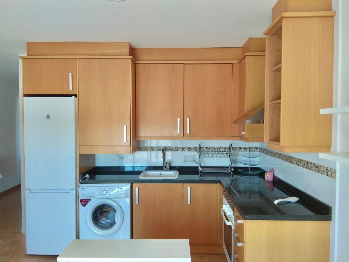Rent Flat  Almazora - almassora ,nueve de octubre. Alquiler con opción a compra, piso seminuevo de un dormitorio, c