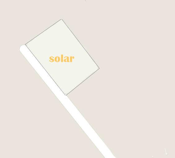 Solar urbano en Catral. Solar en venta, en catral (alicantes), superficie de 522 m2.