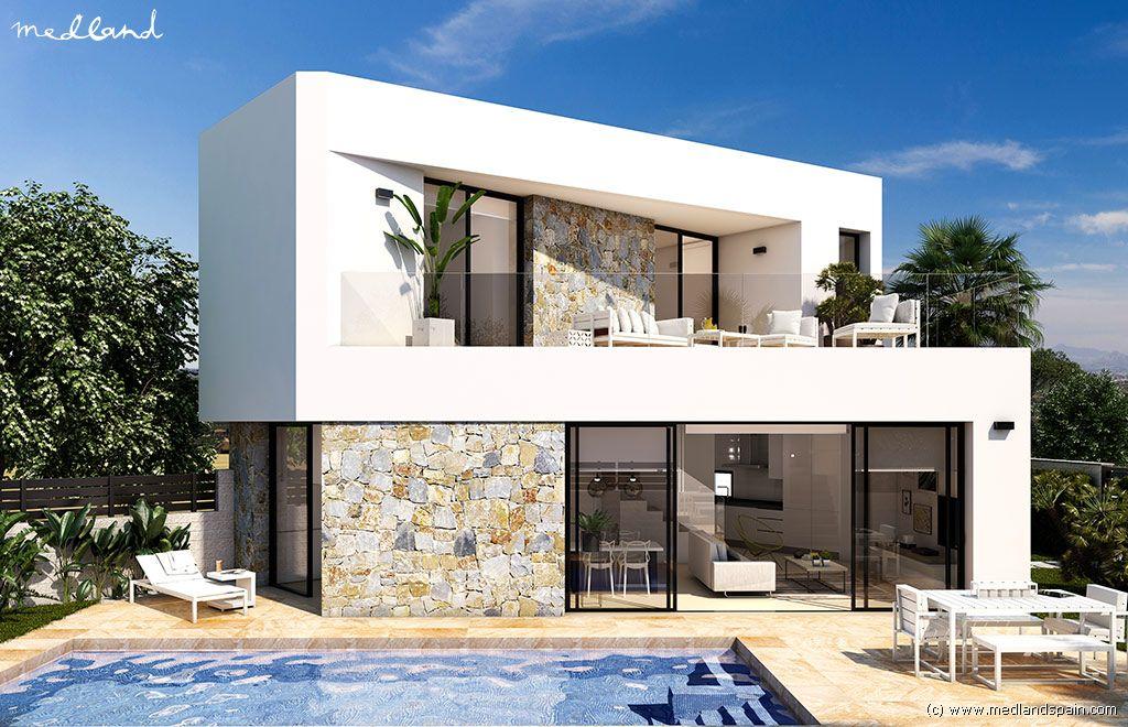 Casa en Benijófar. Chalet de diseño con piscina privada en benijófar