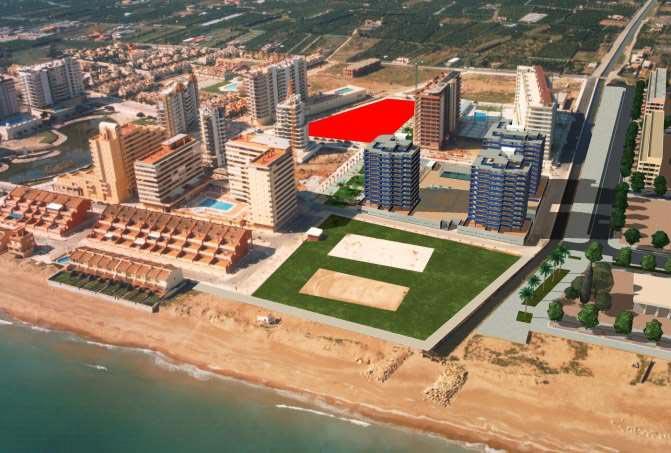 Terrain urbain  Camino goleta. Venta ge solar para hotel en la playa de tavernes de la valldign
