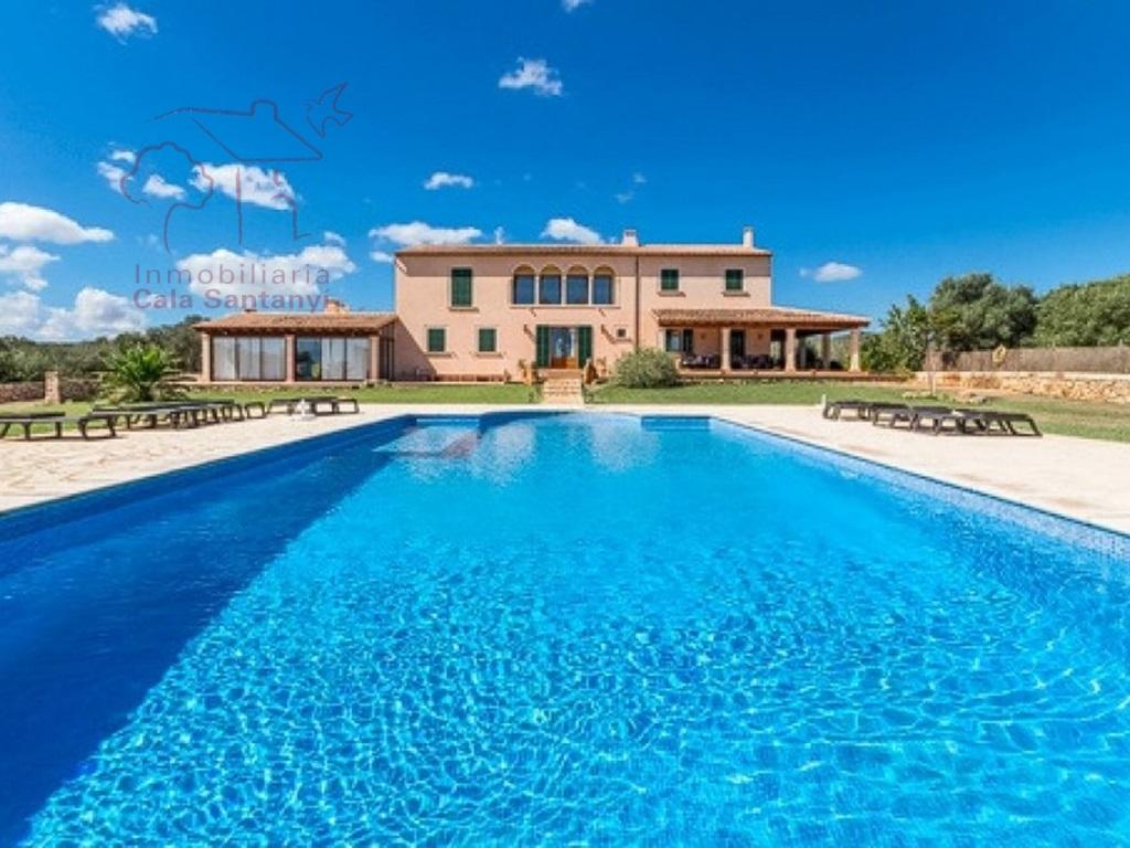 Lloguer Casa  Portocolom, Felanitx, mallorca, españa. Fantástica finca con vistas al mar en portocolom.