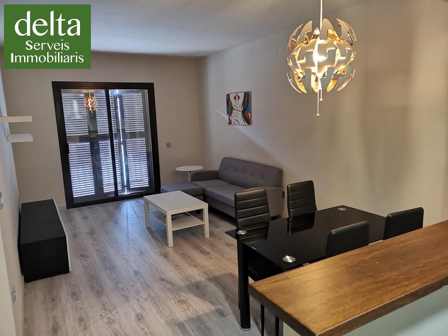 Alquiler Piso en Sant Jaume d´Enveja. Bonito apartamento amueblado a estrenar, de dos habitaciones, en