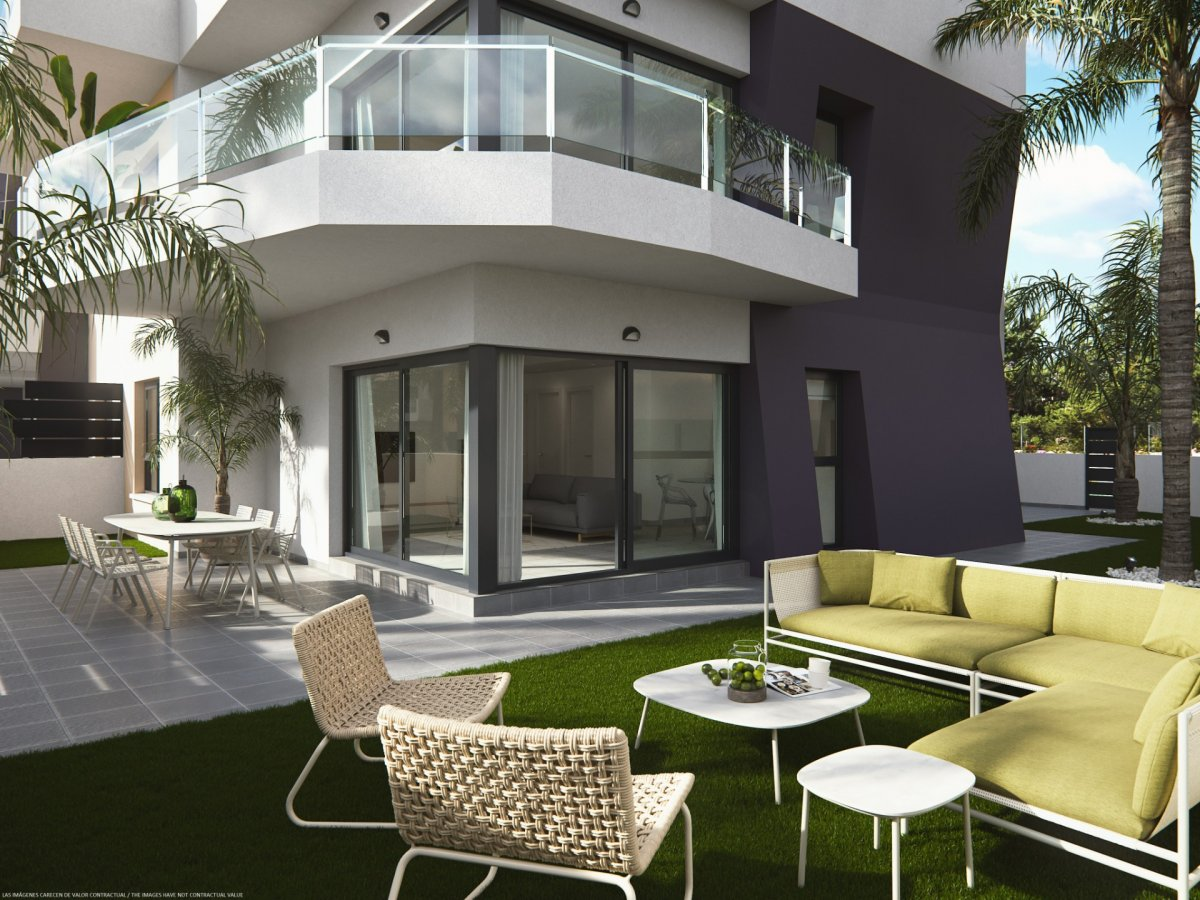 Piso  Pilar de la horadada ,las mil palmeras. Apartamento de obra nueva en la playa de mil palmeras