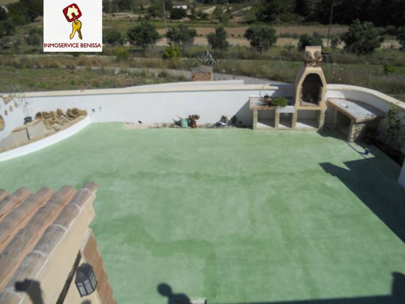 Alquiler Piso  Benissa ,partida rural. Bungalow con parcela y piscina comunitaria en alquiler en beniss