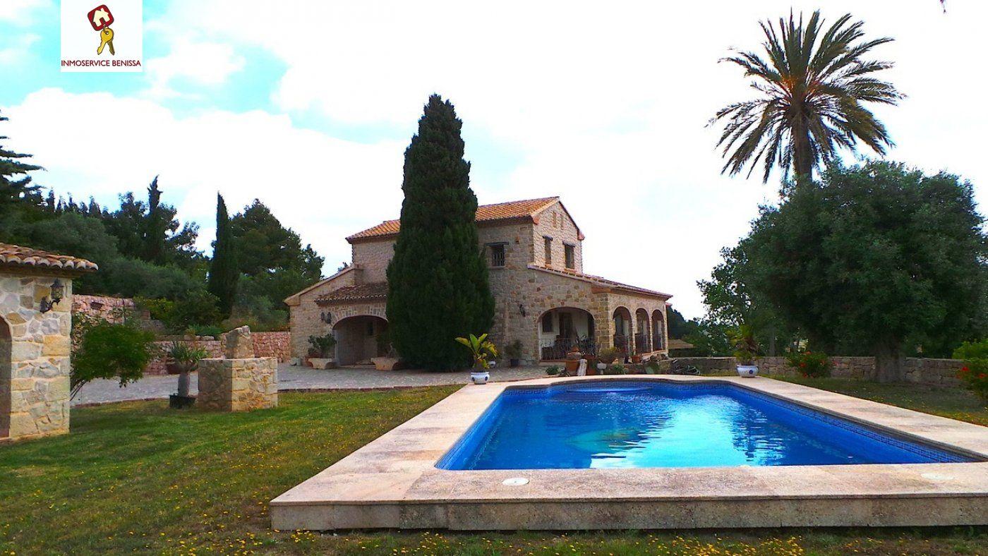 Lloguer Casa  Benissa ,partida rural. Impresionante villa de lujo en alquiler en benissa