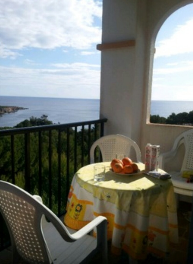 Flat  Calle cala de sant vicent. Ibiza con vistas al mar