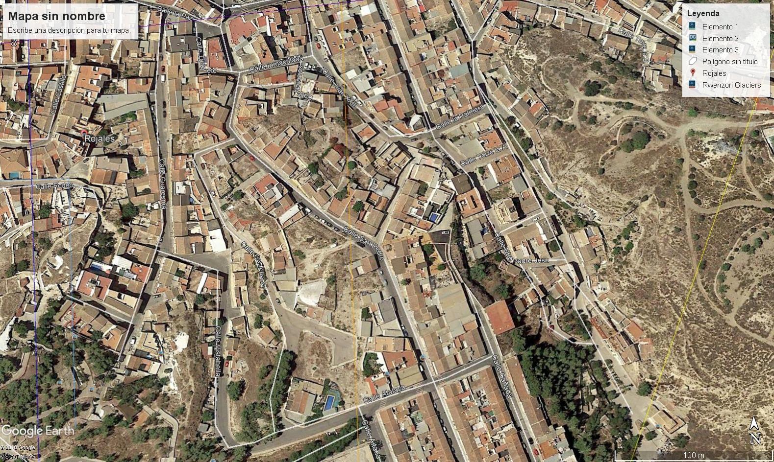 Solar urbano en Rojales