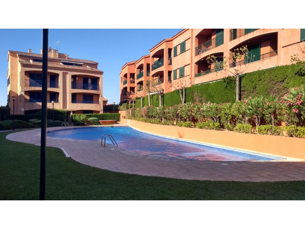 Flat  Marina sant jordi, l'ametlla de mar, tarragona, españa. Dúplex de 4 habitaciones en urbanización marina sant jordi -l'am