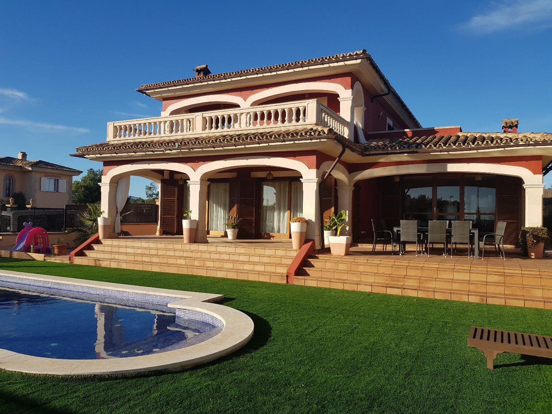 Casa  Marratxí - sa cabaneta. Gran chalet con piscina en marratxí