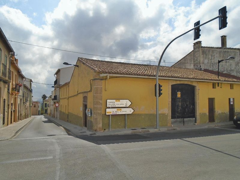 Casa in Sagra. Rustic finca for sale with lots of potential!