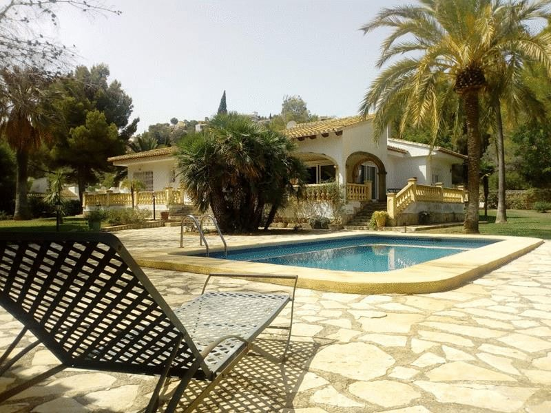 Lloguer Casa en Pedreguer. Beautiful detached villa for rent in la sella