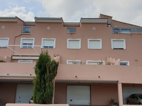 Chalets de alquiler con parking en Marina Alta