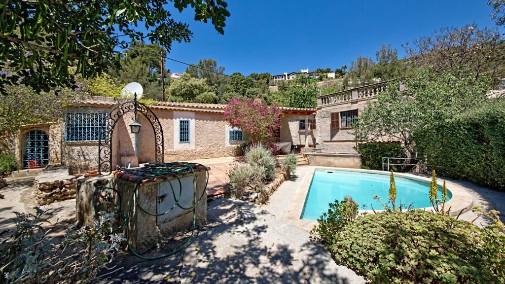 Casa  Génova. Villa de estilo mediterráneo, gènova, palma, mallorca