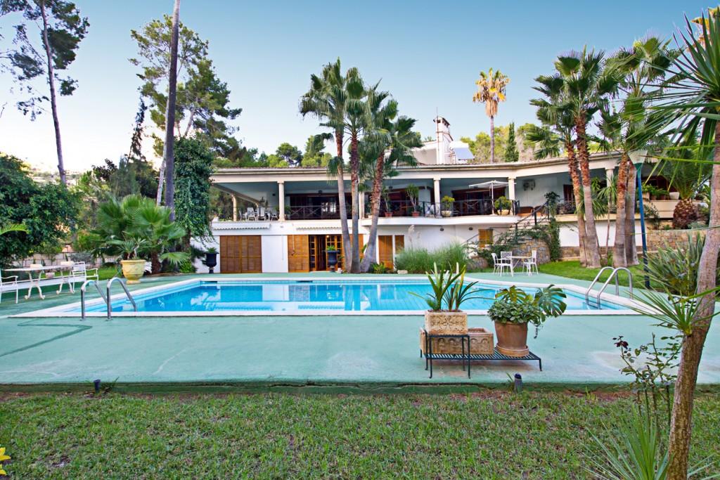Casa  Son vida. Villa de lujo en selecta urbanización, son vida, mallorca