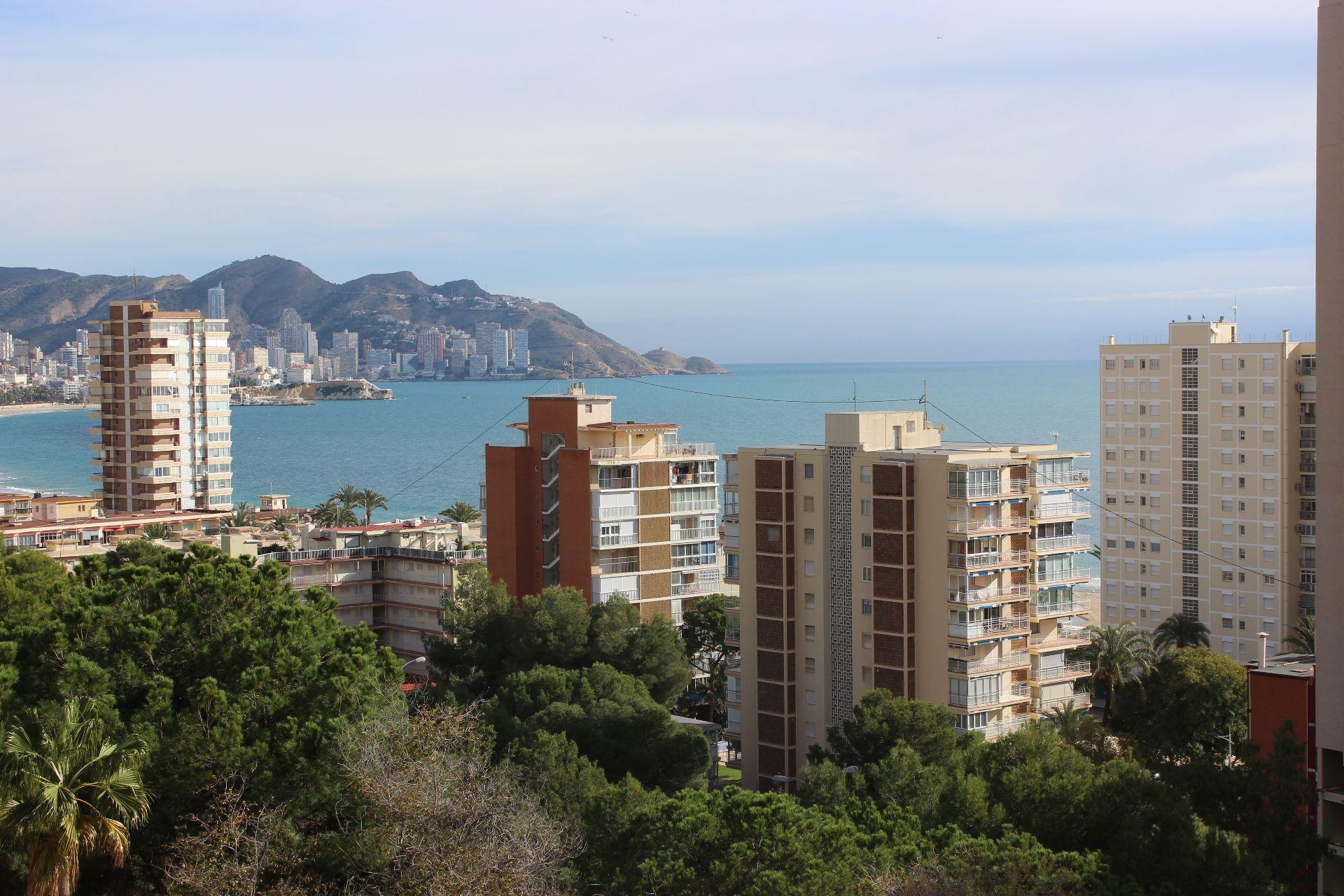 Piso  Poniente. Apartamento con vistas al mar