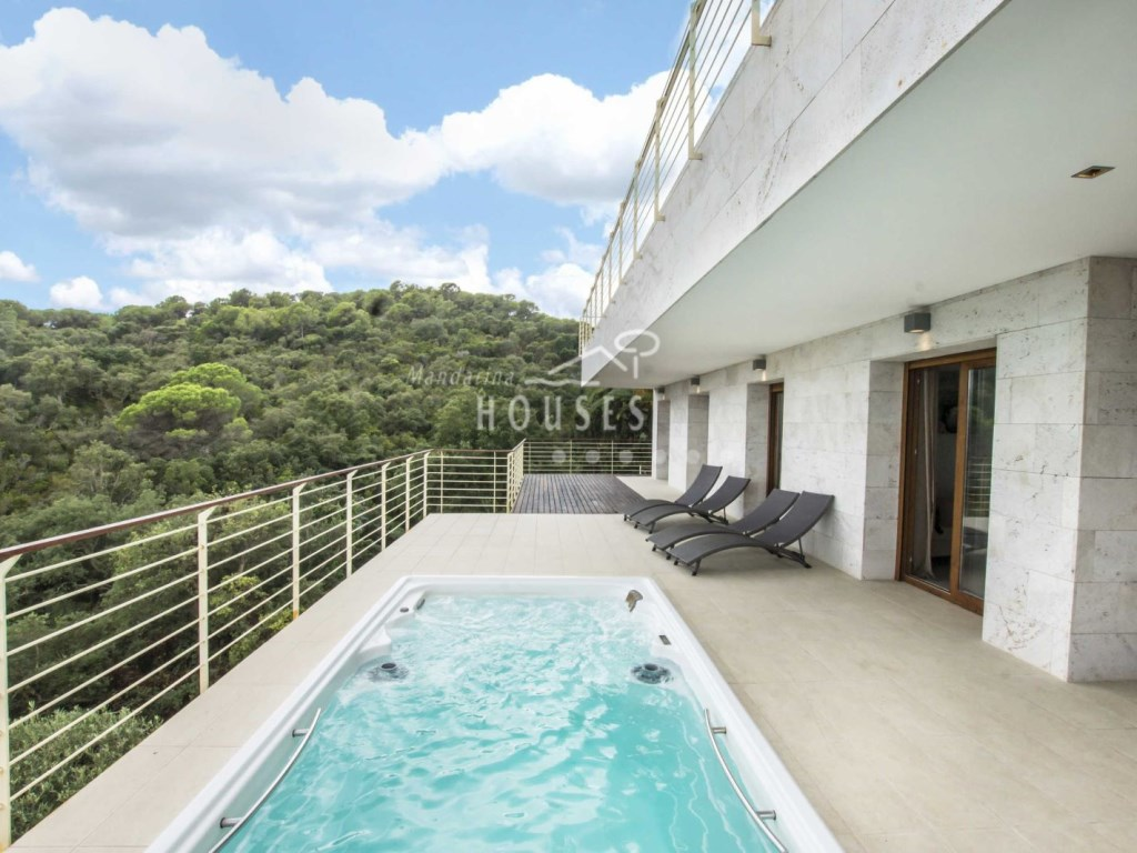 Casa  Playa brava, canyelles, tossa de mar, girona, españa. Villa nueva de lujo con magníficas vistas al mar