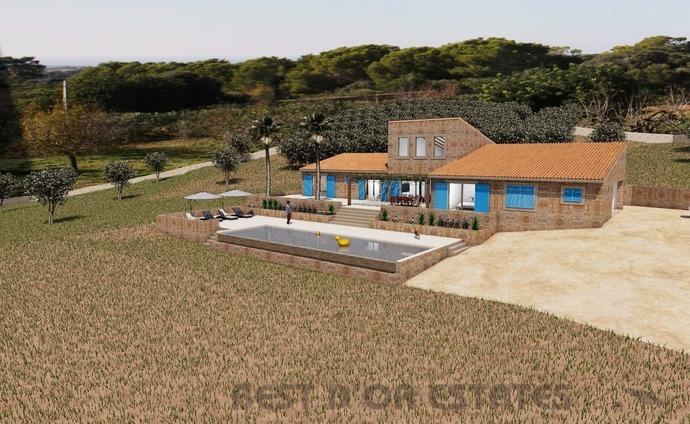 Urban plot  S'horta. Terreno con planes + proyecto, s'horta 790.000€