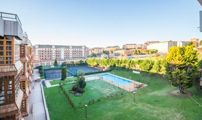 Pisos de alquiler con piscina en Gijón