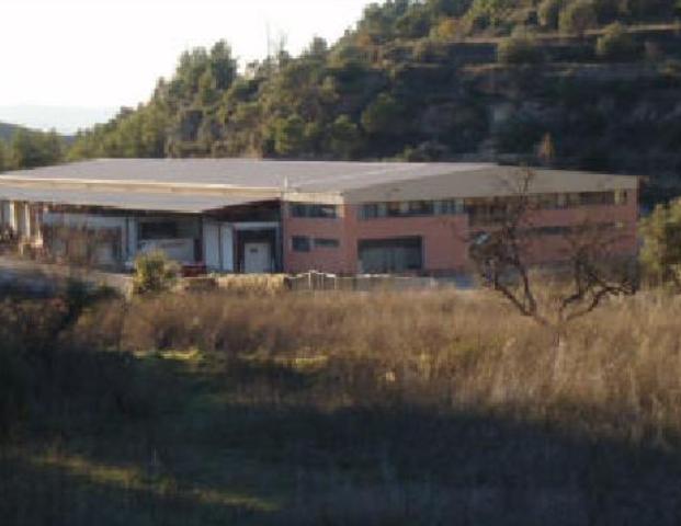 Bâtiment à usage industriel à Talamanca. Nave industrial en venta en les generes, talamanca (barcelona) d