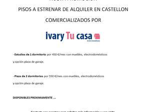Pisos de alquiler en Castellón de la Plana ciudad, Castellón de la Plana / Castelló de la Plana