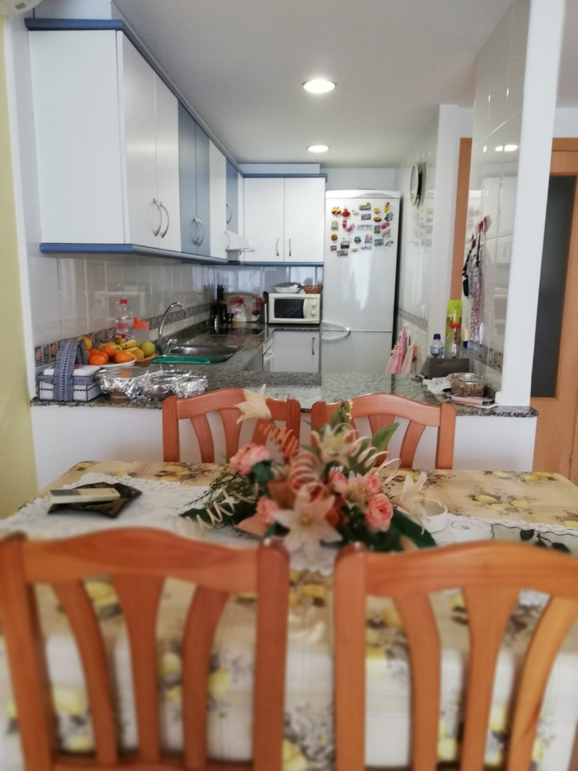 Rental Flat  Ratlla terme. Planta baja 2 habitaciones en benicarlo