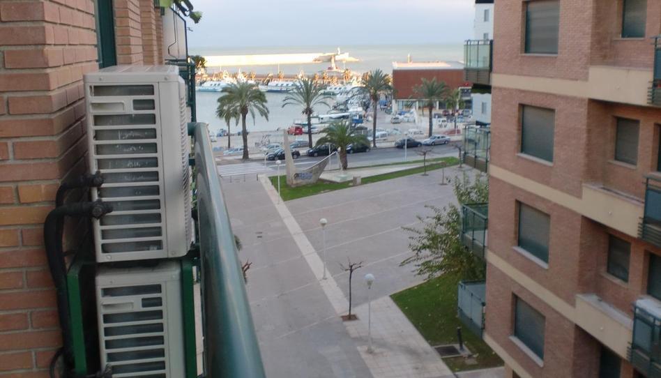 Foto 1 de Apartamento de alquiler en Zona Port, Castellón
