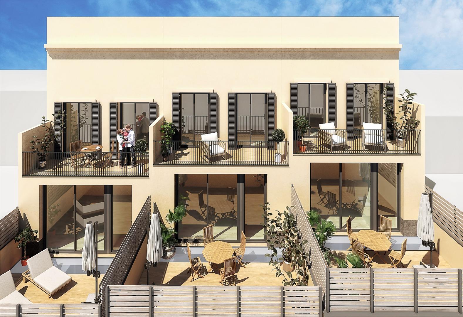 Casa  Calle carrer de sant isidre. Nueva promoción de casas en zona centro.  desde 220m2. ascensor