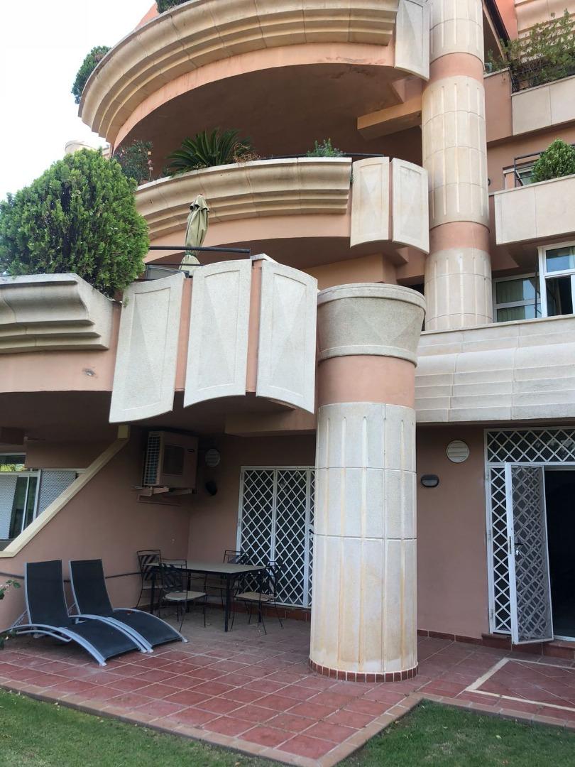 Planta baja en Urbanización MAGNA MARBELLA